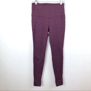 Mondetta hi waisted full length purple leggings